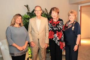 Liz McGovern, Donna and Ken Bodart, Anne Smith