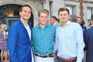 John Watson, Max Rowe, Landon Pitt