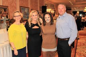 Pat Hessel, Katherine Hessel (Fox 2), Sara Dayley (FoxSports), Chip Ashford