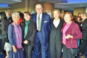 Olga Marth Montiel, JJ Stupp, Sandy and Cindy Peters, Mabel Purkerson MD