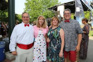 Tom and Kathy Walsh, Lisa and Steve Hickle