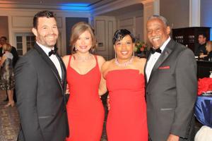 Chad and Amelia Stiening, Philesa and Raymond Johnson