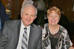 Herb Bernsen (Director of St. Louis County Justice Services), Carole Bernsen