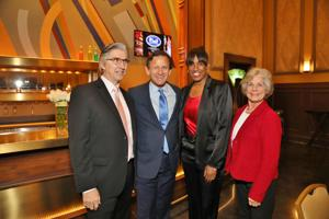 Mark Mestenacher, Chris Zimmerman, Jackie Joyner Kersee, Barb Freeland
