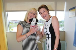 Pam Nicholson, co-chair, Kathy Warnick, President of the Humane Society of Missouri