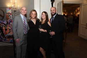 Bob and Natalie Hayden, Julie and Joe Nesselhauf