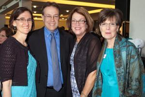 Micki and Mike Wochner, Beth Hudson, Karen Scheible