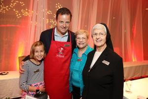 Erika and Tom Ackerman, Betty Hartman,Mary Ann Eultgen