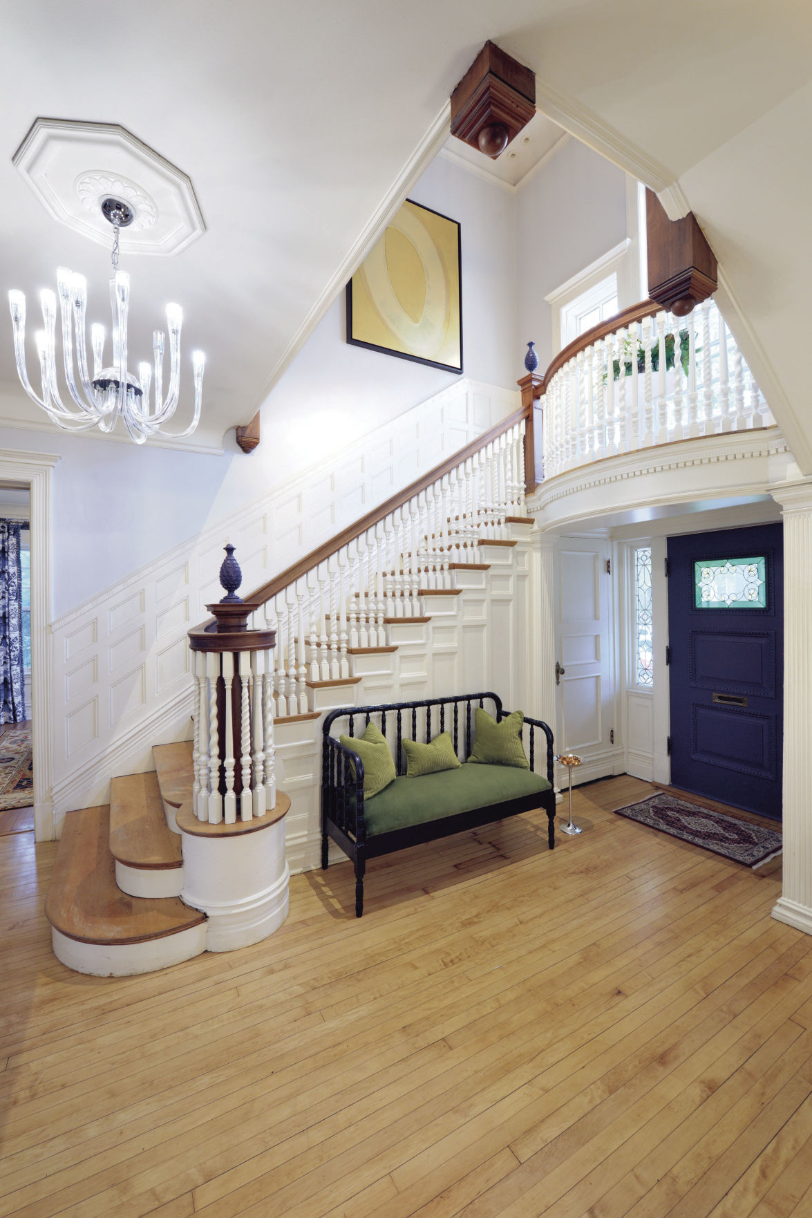 29 Split Entry Living Room Decorating Ideas Keep Home: Entry Foyer/Staircase Landing And Second-Floor Landing
