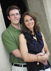 Laura Podgorski and Michael Hill