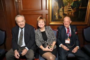 Paul Burke, Nancy Hermen, Raynond Dierken