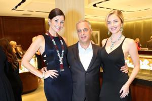 Rachel Duke, Mark Emanuel co-owner David Webb Jewelry, Avery Ross