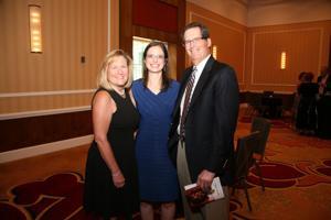 Sally, Laura and Ken Katzif