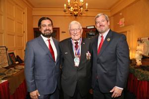 Rich Ledbetter, Chairman of the Board, Harry Hope,  Chair Emeirtus, Carson Baur, Former Chairman