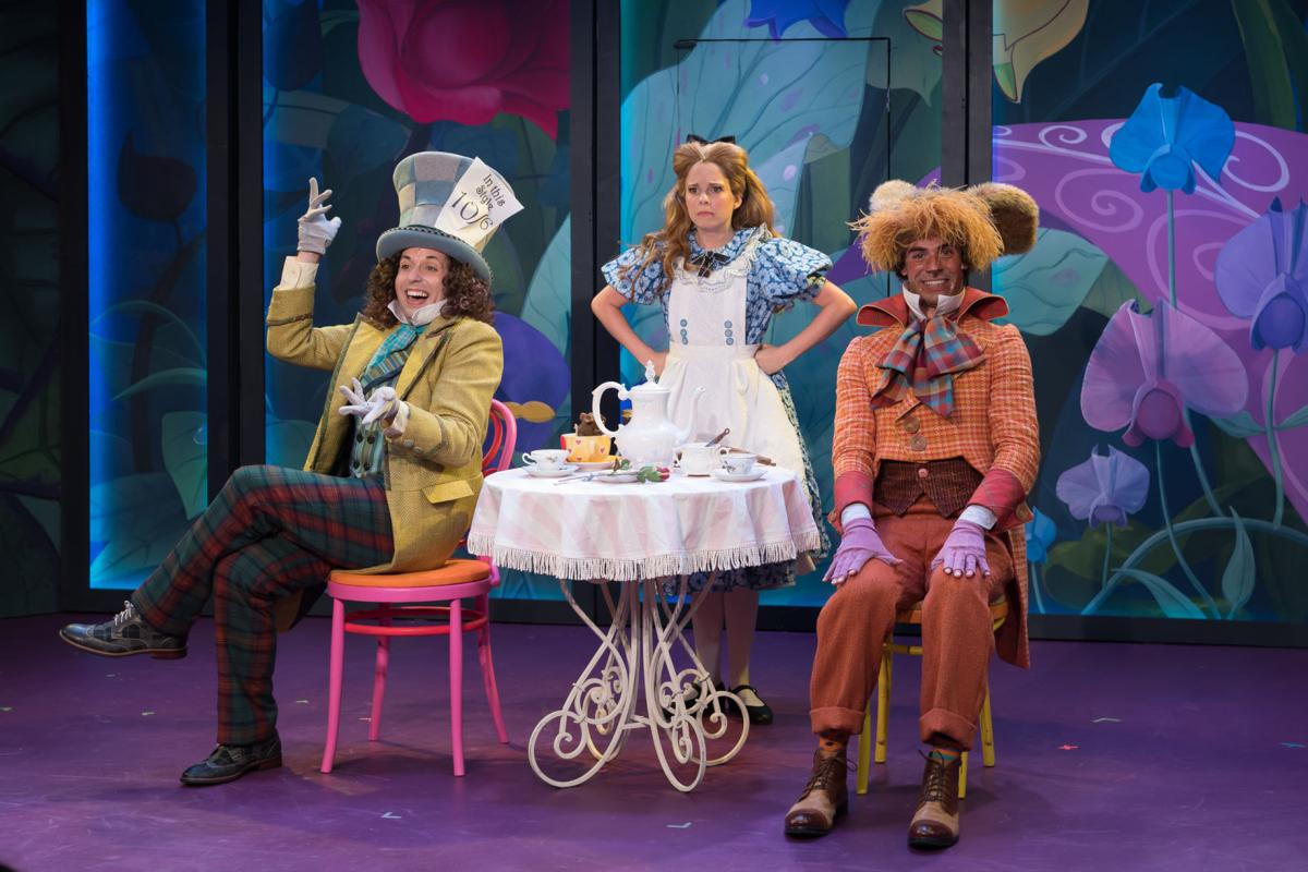 Don T Be Late For Stages Infectious Alice In Wonderland