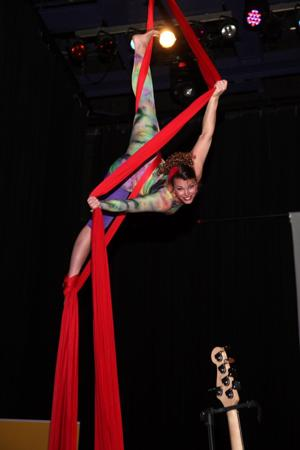 performer from Kinetic Tapestry