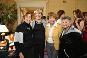 Diane Gallant, Nancy Siwak, Suzie Nall, Rita Swiener