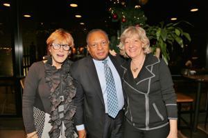 Karen Kalish, Steve Young, Barbara Hockfield