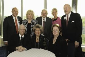 Jack Pohrer, Shirley and Charles Drury, Debbie Darraugh, Darryl Ross, Leonard and Pat Dino, Ellen Ross