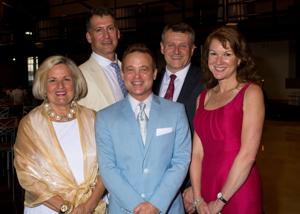 Front: MIllie Cain, Michael Slawin, Dawn Van Houten,  Back: Ted Wright, Jim Kemp
