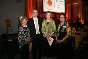 Liz Watkins, Bill and Linda Schwartz, Amy Bertschausen