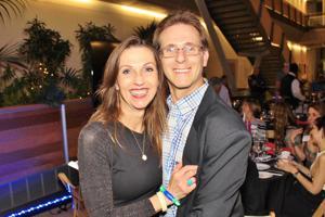 Lisa and Eric Sheldon