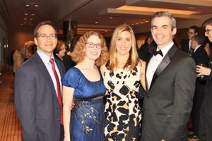 Brian and Judy Weisenberg MD, Ryan and Jake Goldstein MD