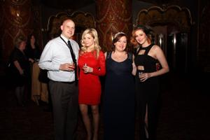 David and Lisa Hammon, Megan Hecht, Shannon Slattery
