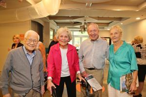 Dr. C.C.Tung, Ginger Cornelius, Frank Vigus, Wally Bowell