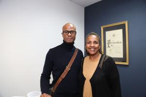 Ron Thompson, Gina Bell Moore