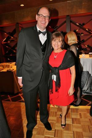 Mark Bethell, executive director, Nancy Kerne