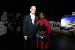 Bill and Yemi Akande Bartsch