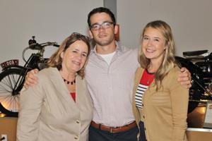 Linda Locke, Martin and Erin Ellinger