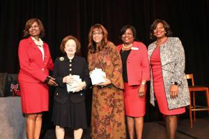 Honorees Marilyn Fox and Thelma Steward