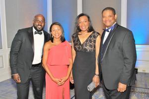 Darius and Jovita Foster, Mallory and Preston Polk