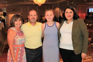Mary Bauer, Jim Bauer, Emma and Tori Bauer