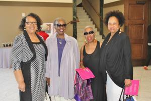 Ida West ,Freida Wheaton, Silver Wainhouse, Evelyn Rice-Peebels