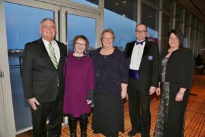Jim and Joan O'Loughlin, Sister Joan Andert, John Aton, April Jones