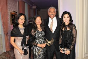 Jackie Yoon, Hazel and Donald Arnold, Miran Halen