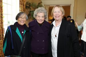 Anna Lum, Joanne Kuhn, Dudley Grove