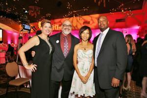 Jennifer and Omar Ahmad, Stephanie and Michael King