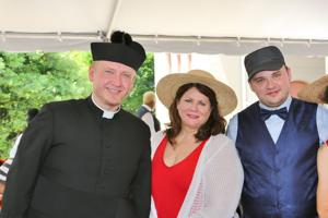 Father Marek Bozek, Reverend Andrea Watson, Christopher Kipper