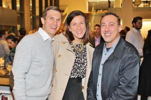 Alex and Beth Siesener, Steve Hoover