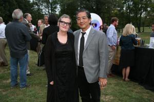 Executive Director Marilu Knode, Kevin Miyazaki