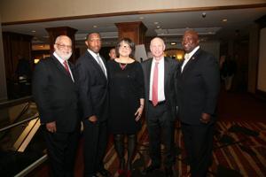 Ken Stone, Craig and Regina Fowler, Bill White, Flint Fowler