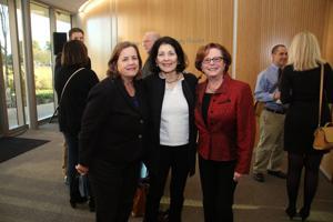 Linda Locke, Vivian Eveloff, Robbye Frank