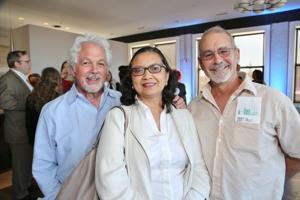 Tom Cohen, San San and Daniel Smith