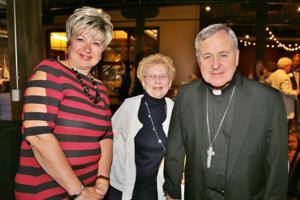 Nancy McCarthy, Jackie Mitchell, Archbishop Carlson