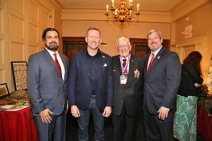 Rich Ledbetter Chairman of the Board, Rob O'Neill Keynote Speaker, Harry Hope,  Chair Emeirtus ,  Carson Baur, Former Chair,