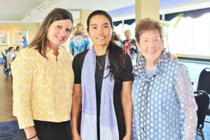 Erica Land, Sokhary Pavese, Diane Garrison